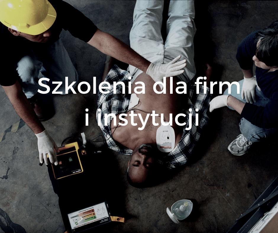 Szkolenia dla firm z pierwszej pomocy