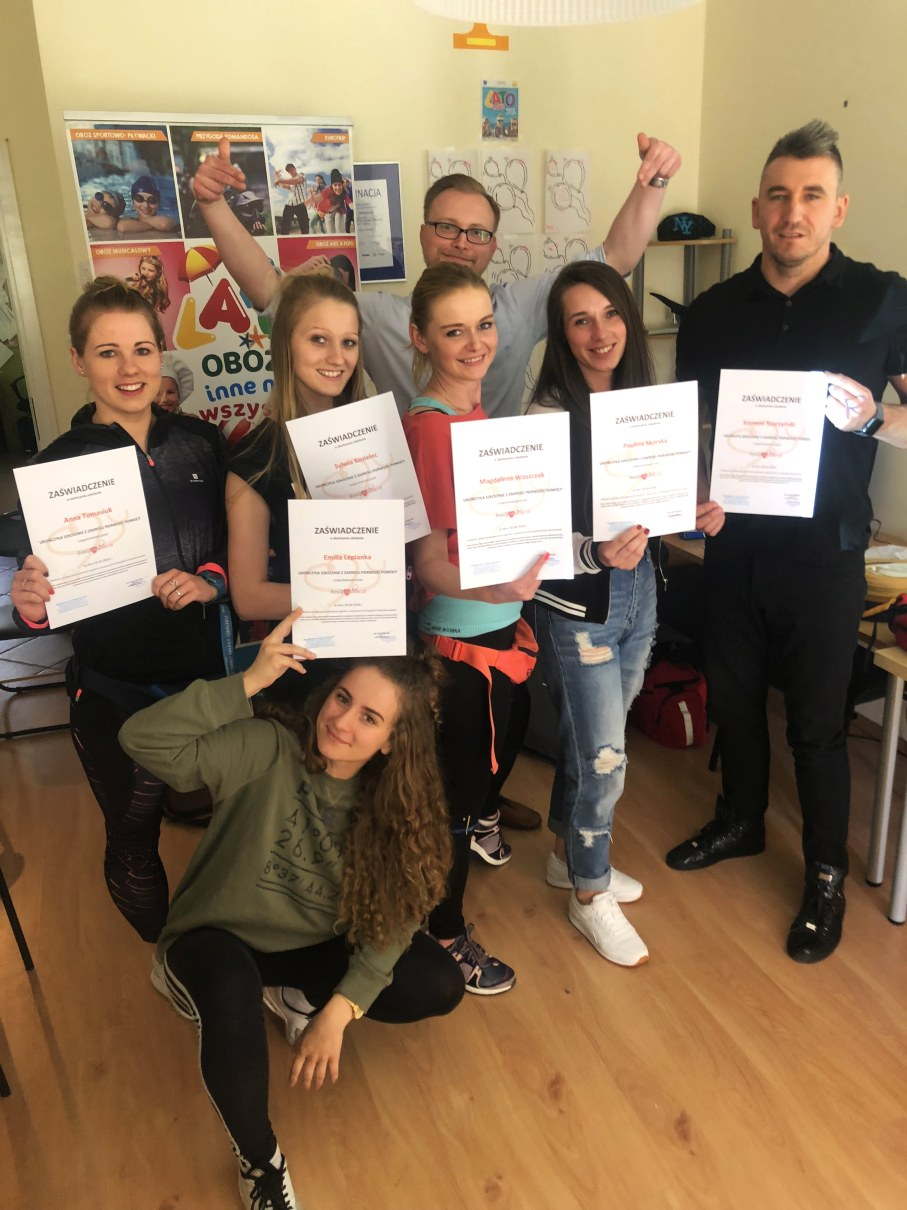 szkolenie pierwszej pomocy dla firm wrocław